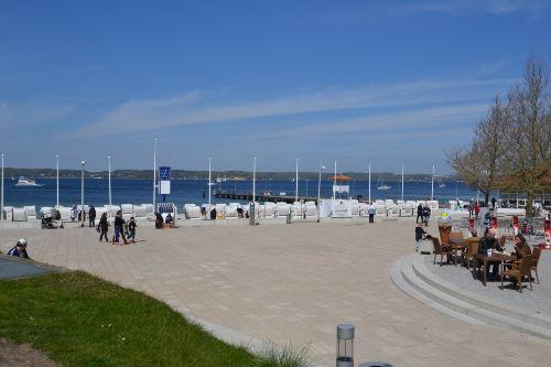 Kurpromenade und Strand vor der Tür