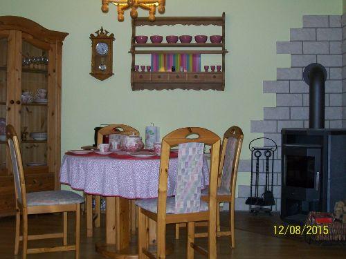 Gro�e kuschelige Sofa-Ecke im Wohnzimmer
