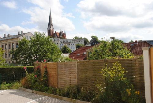 Blick auf die St. J�rgen-Kirche