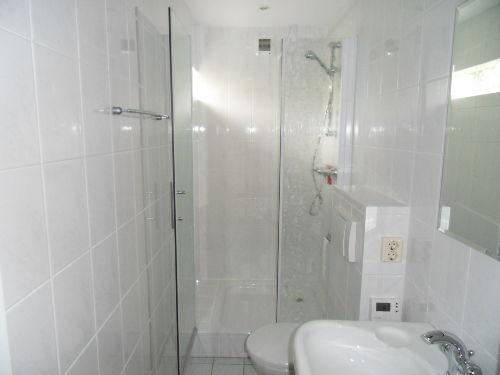 Badezimmer mit duche und Toilette