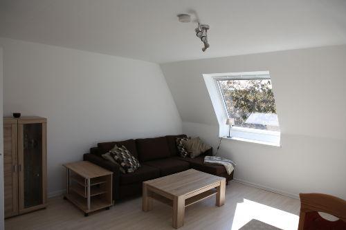 Wohnzimmer mit Bolia Schlafsofa