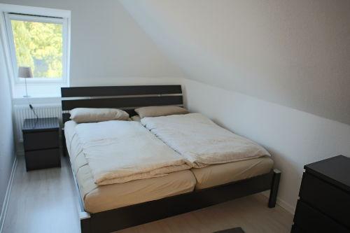 Schlafzimmer mit Bolia Doppelbett 160cm