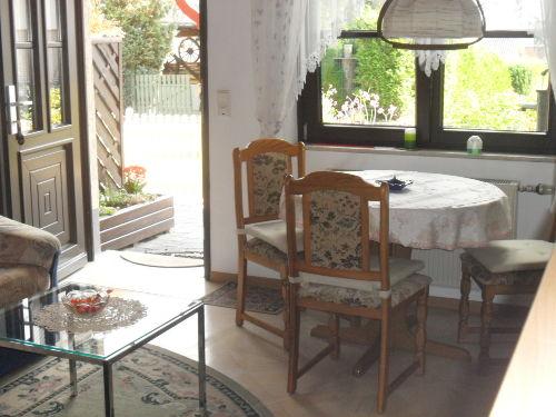 Wohnraum einer Ferienwohnung