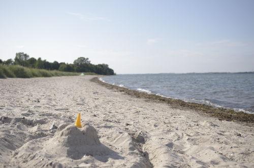 Habernis Strand nur 3 km entfernt