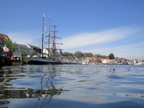 Wundersch�ne F�rdestadt Flensburg