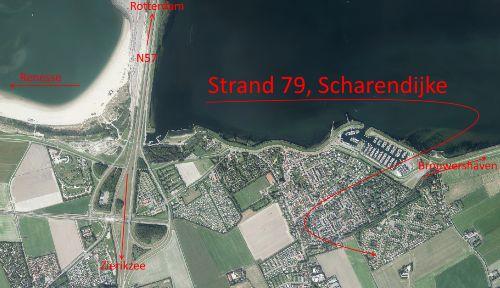 Umgebung von Ferienwohnung Strand 79