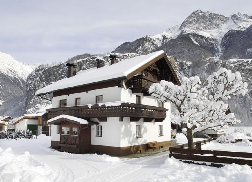 Haus �Hahlkogelblick� im Winter