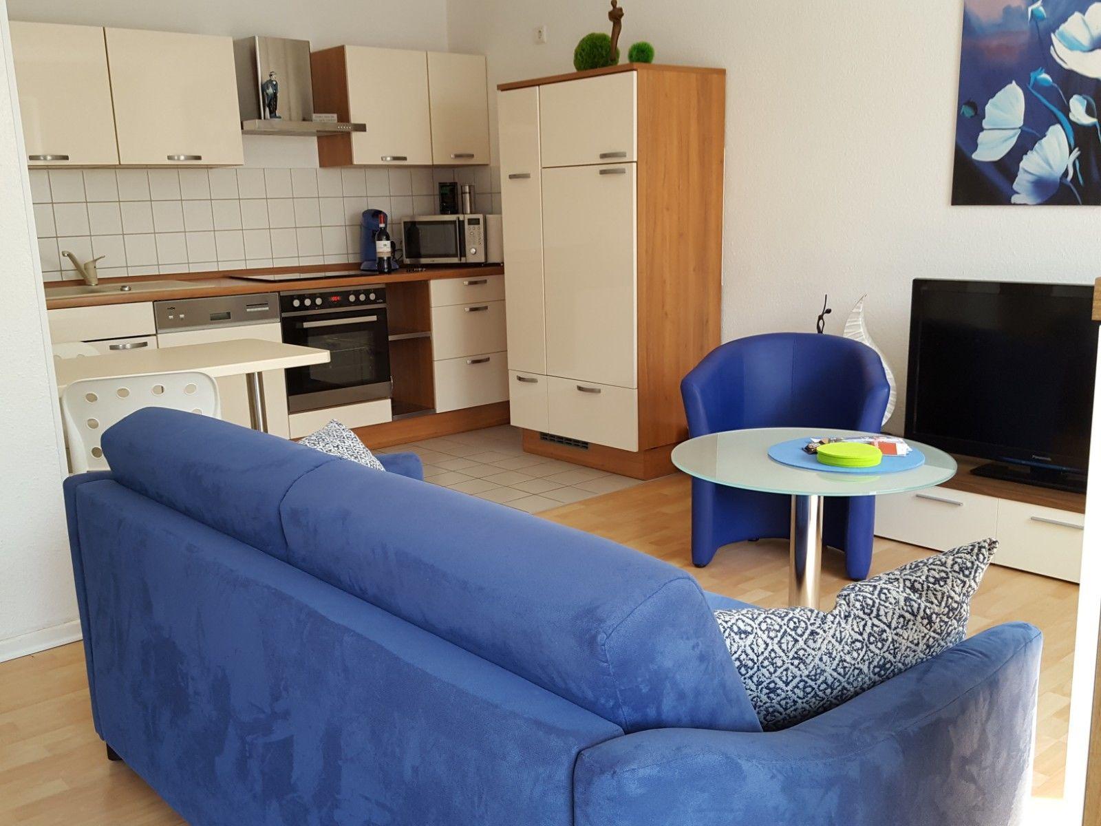 Wohnzimmer mit Deko