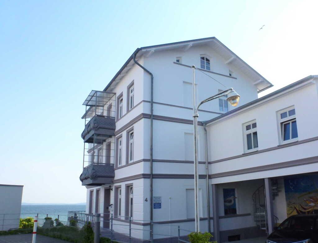 Sassnitz: Ferienwohnungen mit Meerblick, Fewo Back