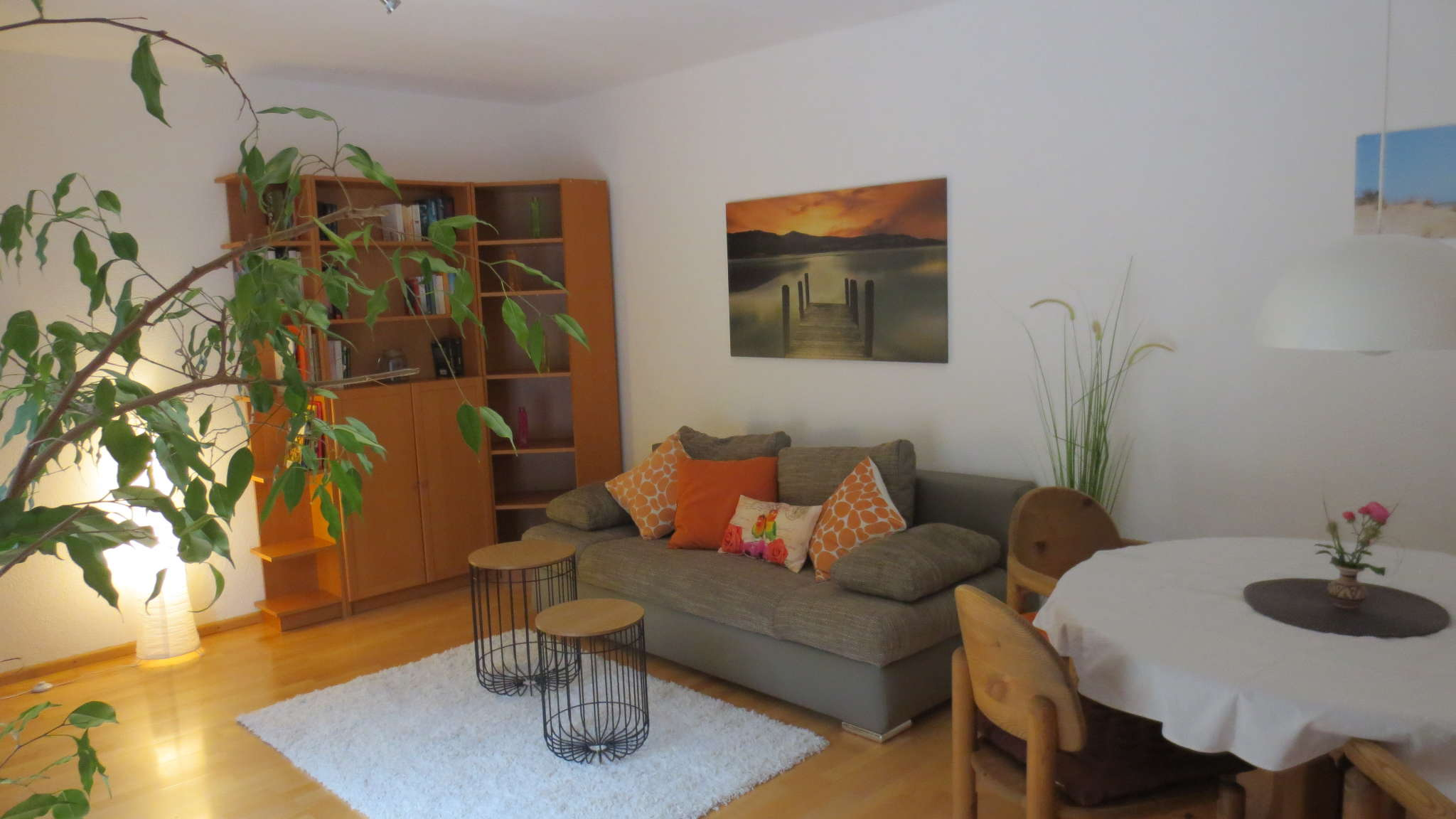 Blick in das Wohn-/Esszimmer