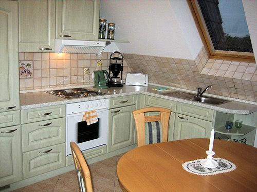 Küche- und Essbereich