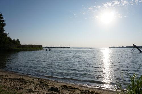 Bungalow von der Seeseite