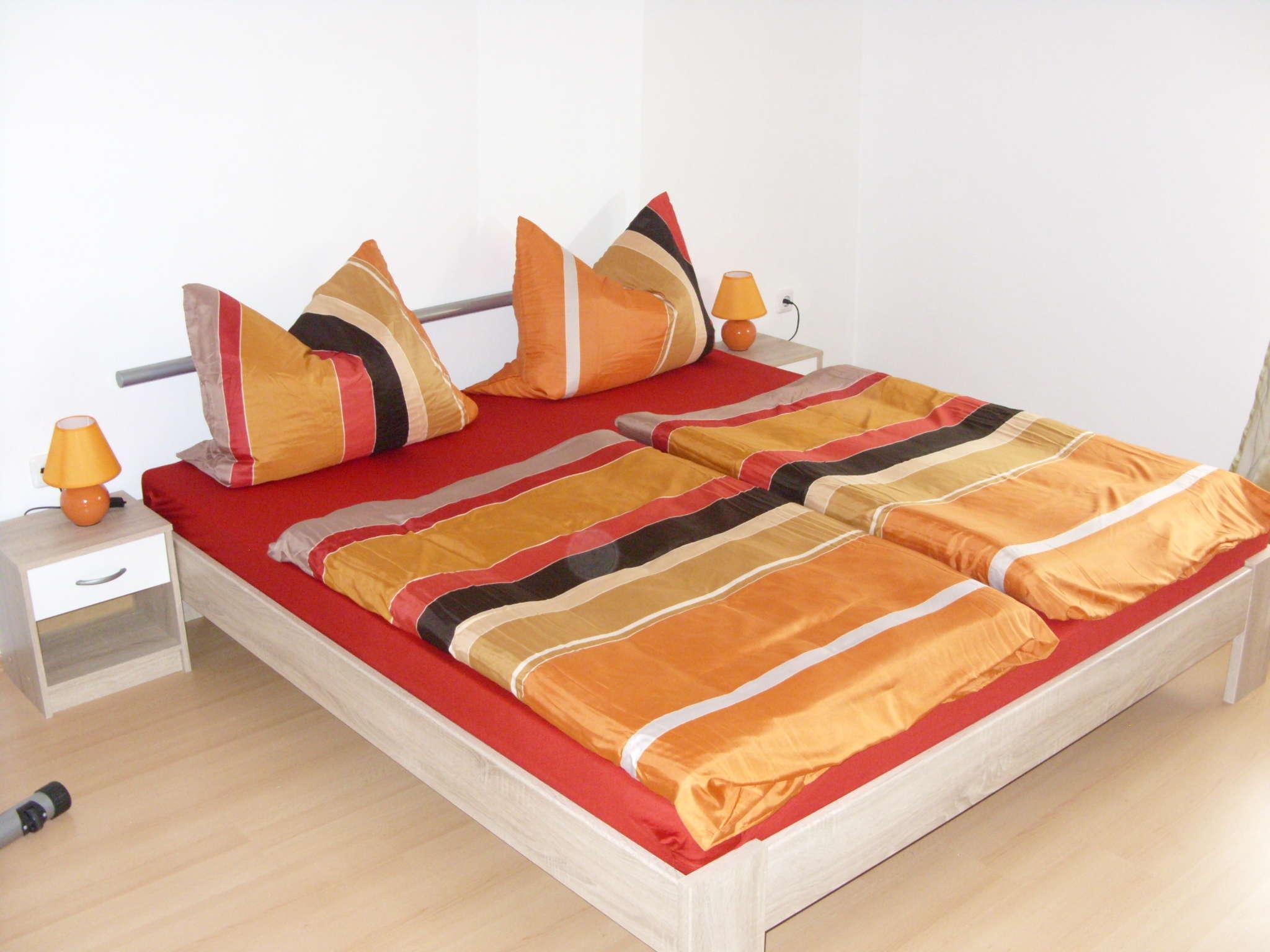 Schlafcouch im Schlafzimmer