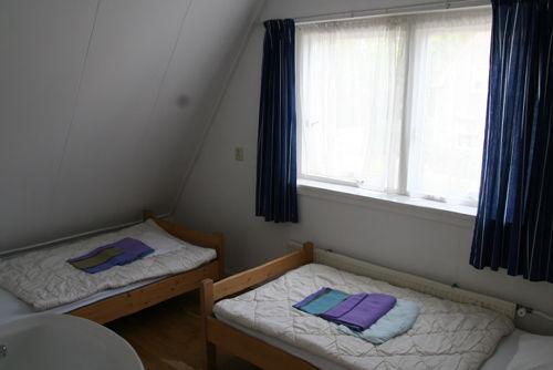 Schlafzimmer an der Gasseseite.