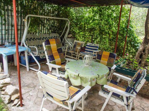 Garten-Sitzecke, zum mitbenu.von Gaesten