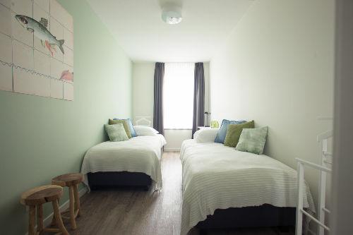 Schlafzimmer 2, 2 x Einzelbett 90x210