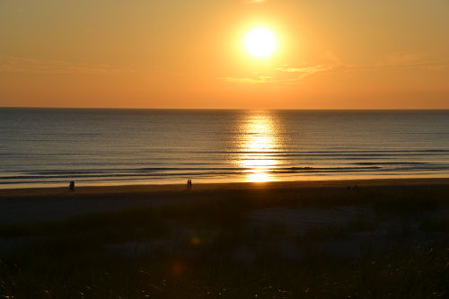 Die Sonnenuntergang