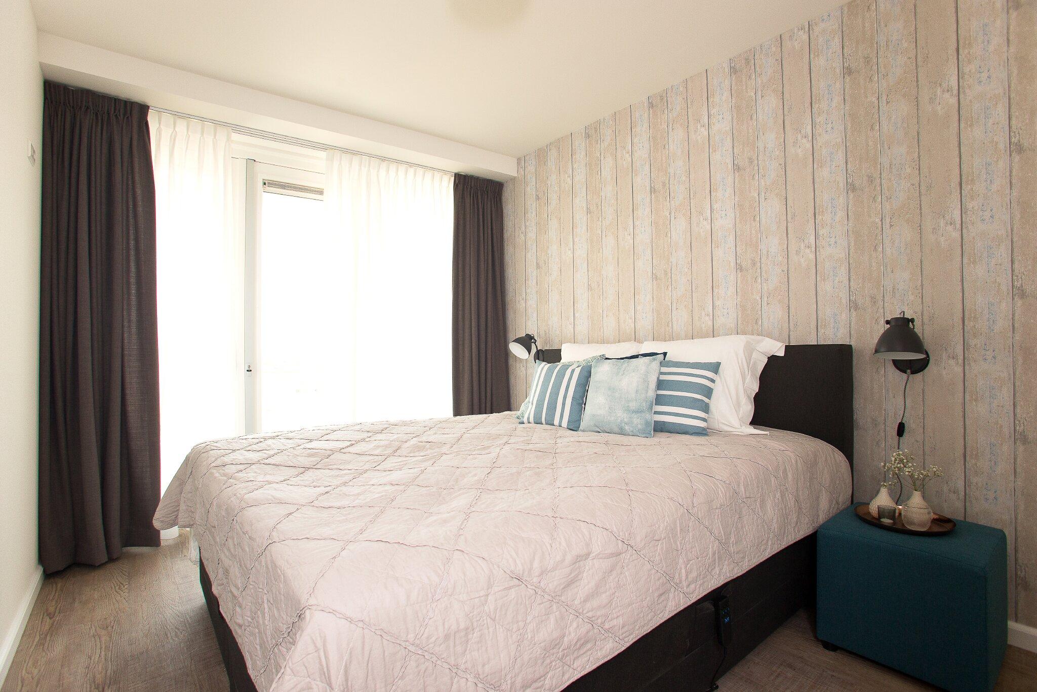 Schlafzimmer 1, Elektrisch Doppelbett