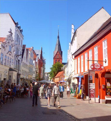 Große Straße-Nordermarkt-Flensburg