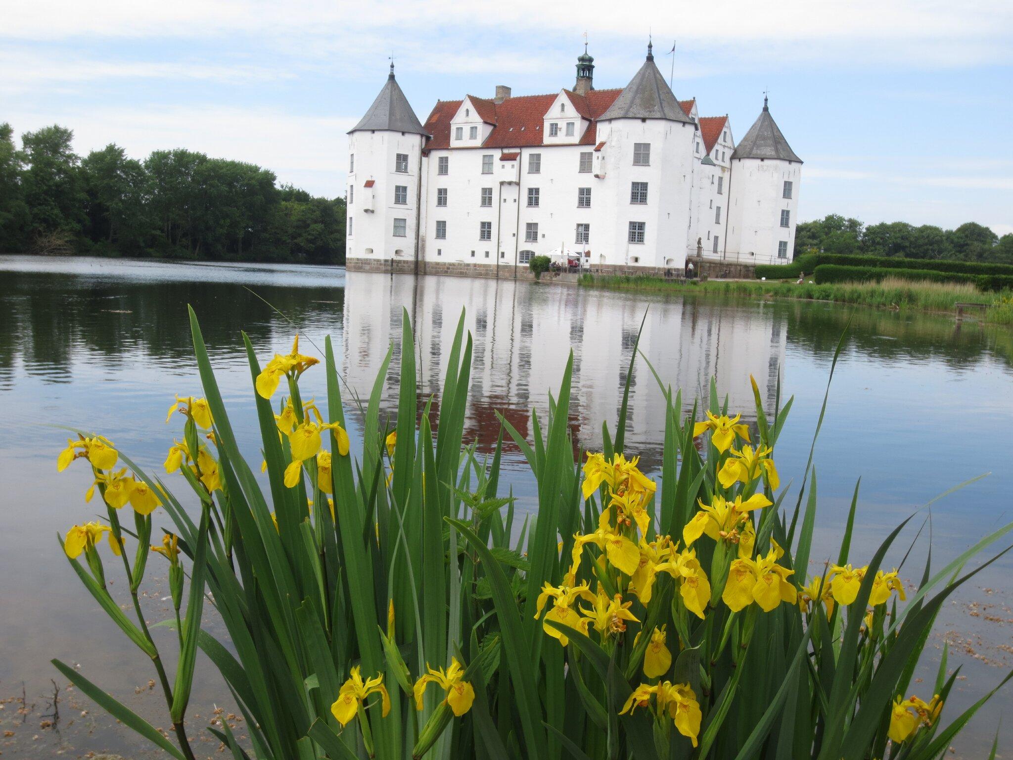 Der Glücksburger Segelhafen