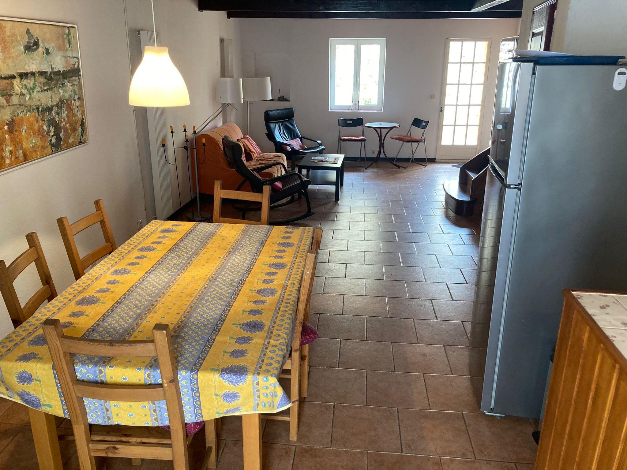 Vom Innenhof nach oben