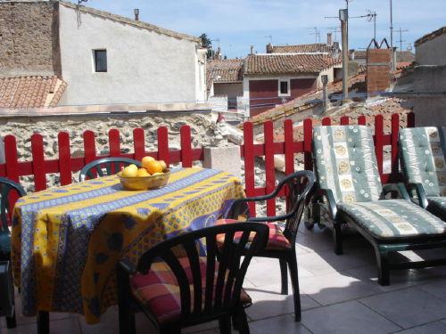 Blumenmarkt in Marseillans (dienstags)
