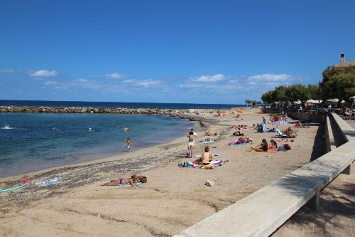Strand Colonia de Sant Pere