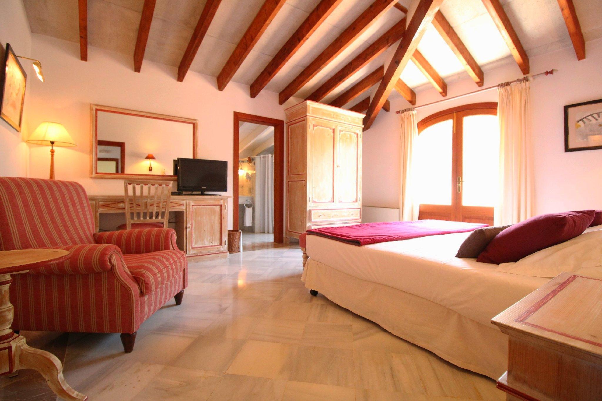 Villa ORIENT Schlafzimmer