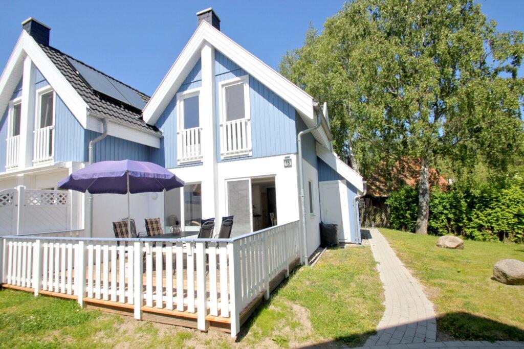 Ferienhaus Cumulus, Haus: 80m², 3-Raum, 6 Pers.,Te