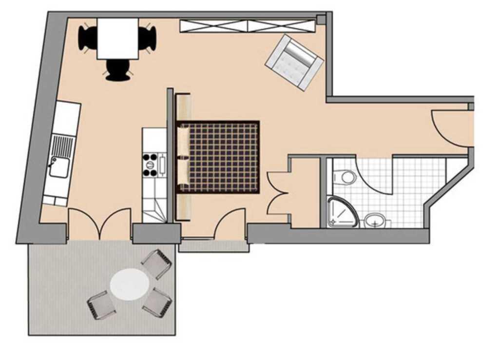 Appartementhaus Diewert, Ferienwohnung 1