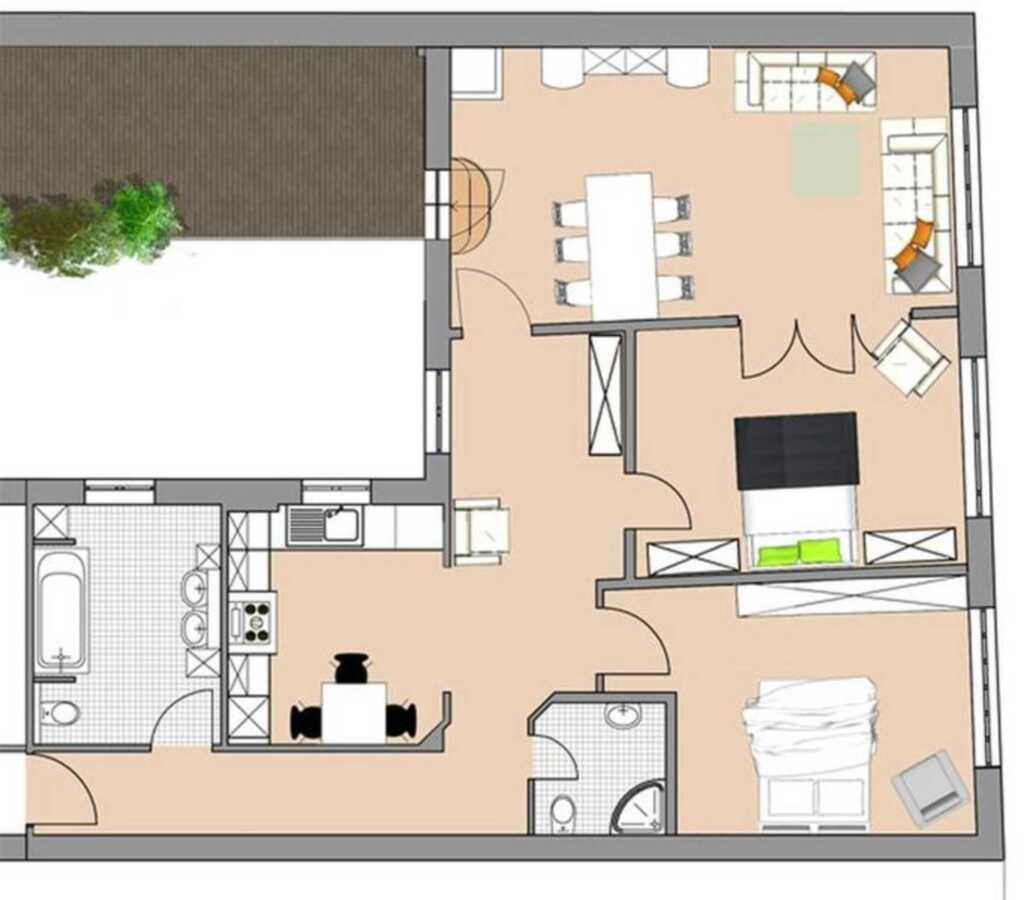 Appartementhaus Diewert, Ferienwohnung 7
