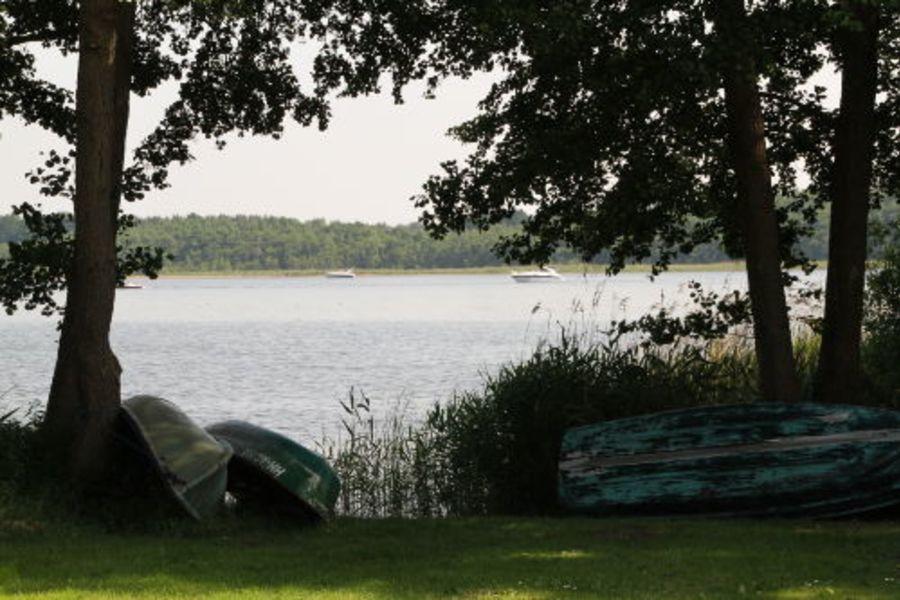 Jabeler See vor dem Haus