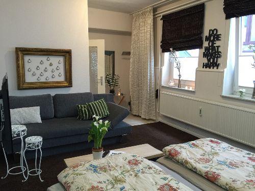 Eleganter Wohn- und Schlafbereich