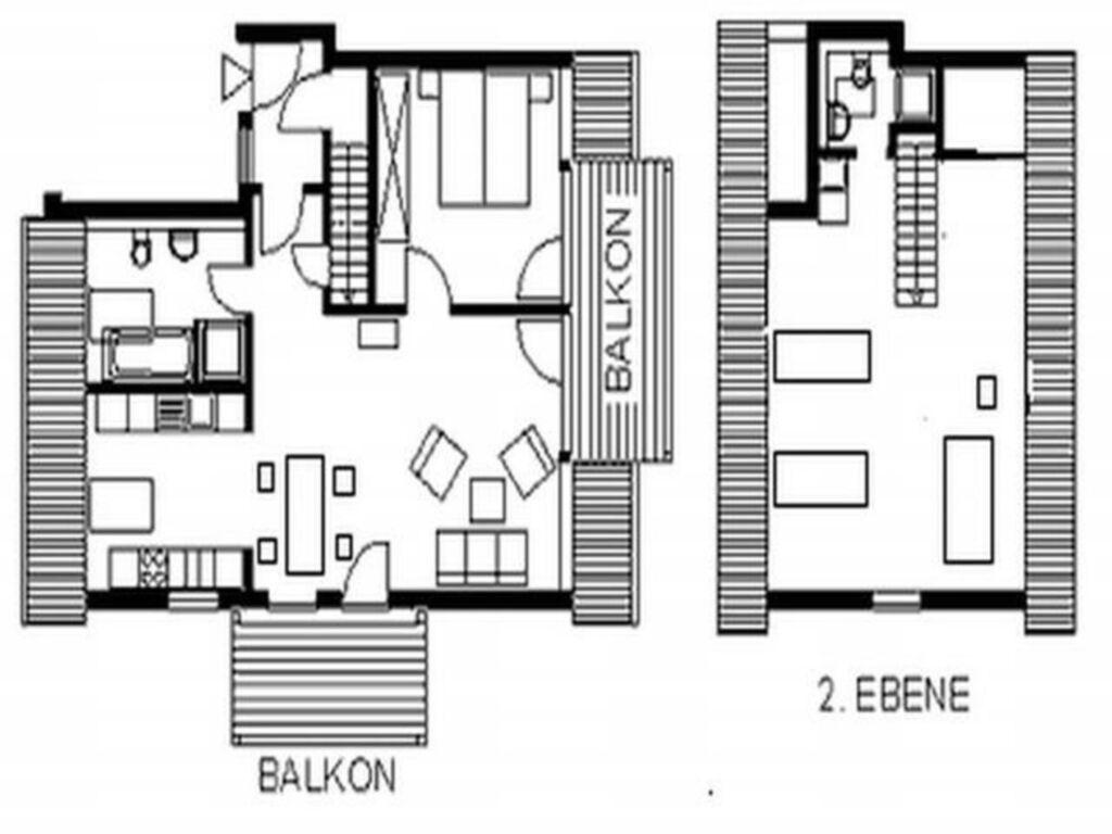 Appartements in Kühlungsborn-Ost, (124-1) 3- Raum-