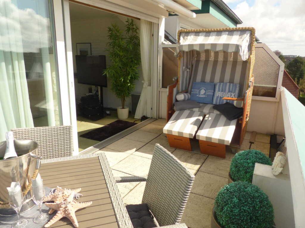 Ferienwohnung Oceanview im Penthouse-Stil, 2 Schla