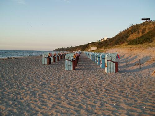 Abendstimmung am Strand