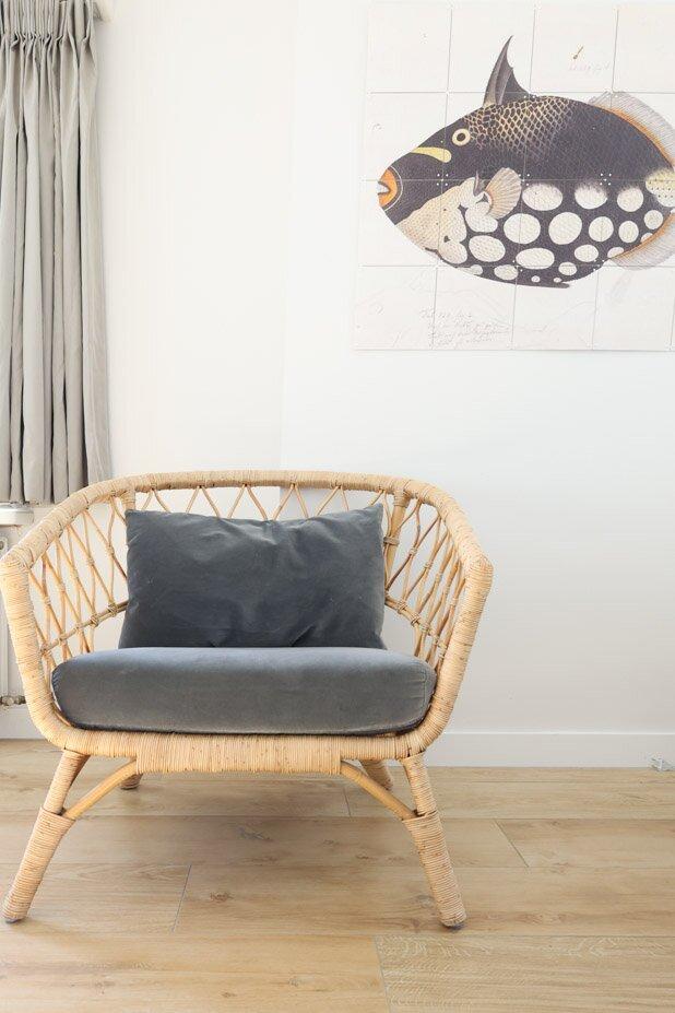 Wohnzimmer und K�che