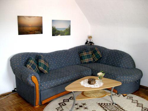 Das gemütliche Wohnzimmer (Wohnung 1)