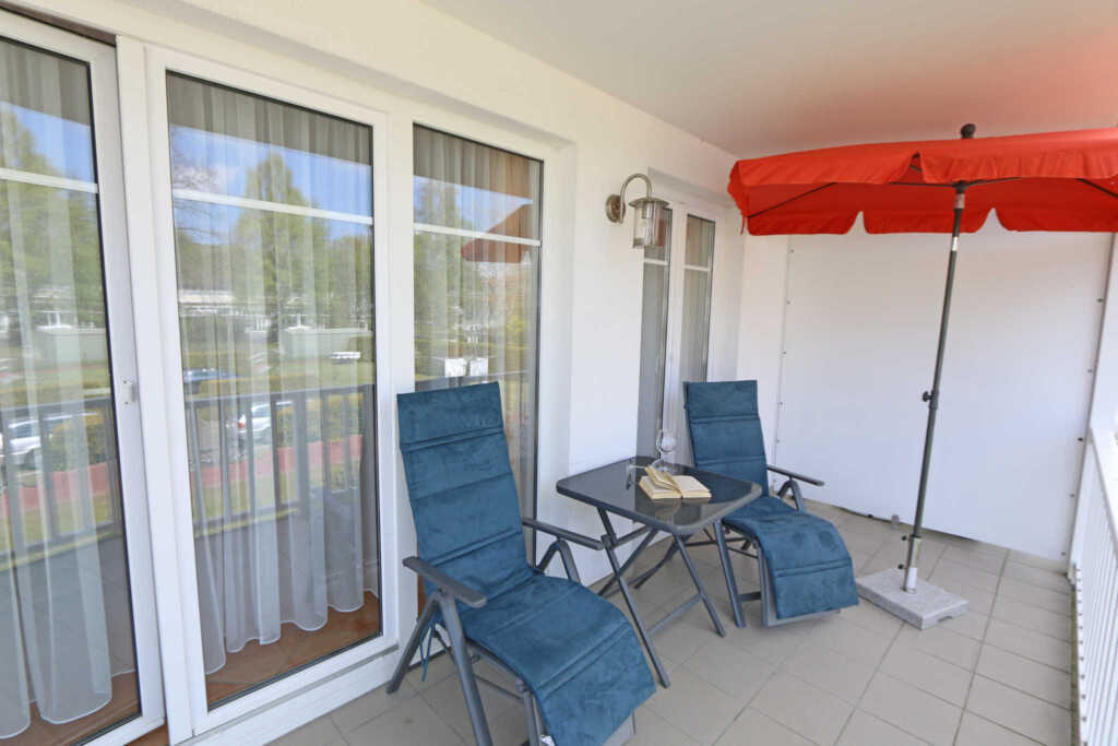 F.01 Ferienwohnung 9 Strandkrabbe mit 2 Balkone, F
