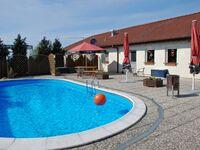 Ferienappartements auf dem Bauernhof mit Swimmingpool, 12  1-Raum-Ferienappartement Mohnblume in Parchtitz - kleines Detailbild