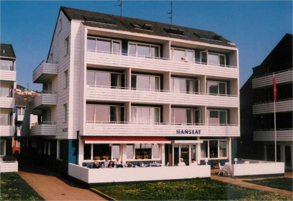 Haus Hanseat, 3-Bettzimmer. Balkon. Seeblick