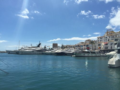 Jachthafen von Puerto Banús / Marbella
