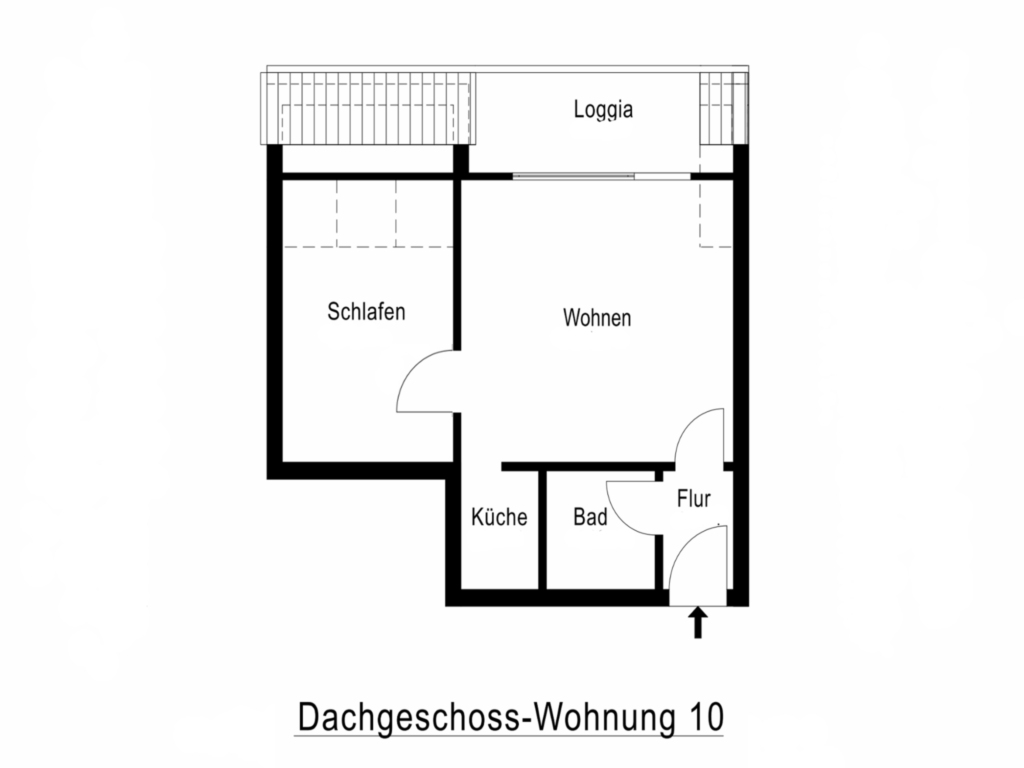 BUE - Fischer's Hus, 210 Balk 2-Raum