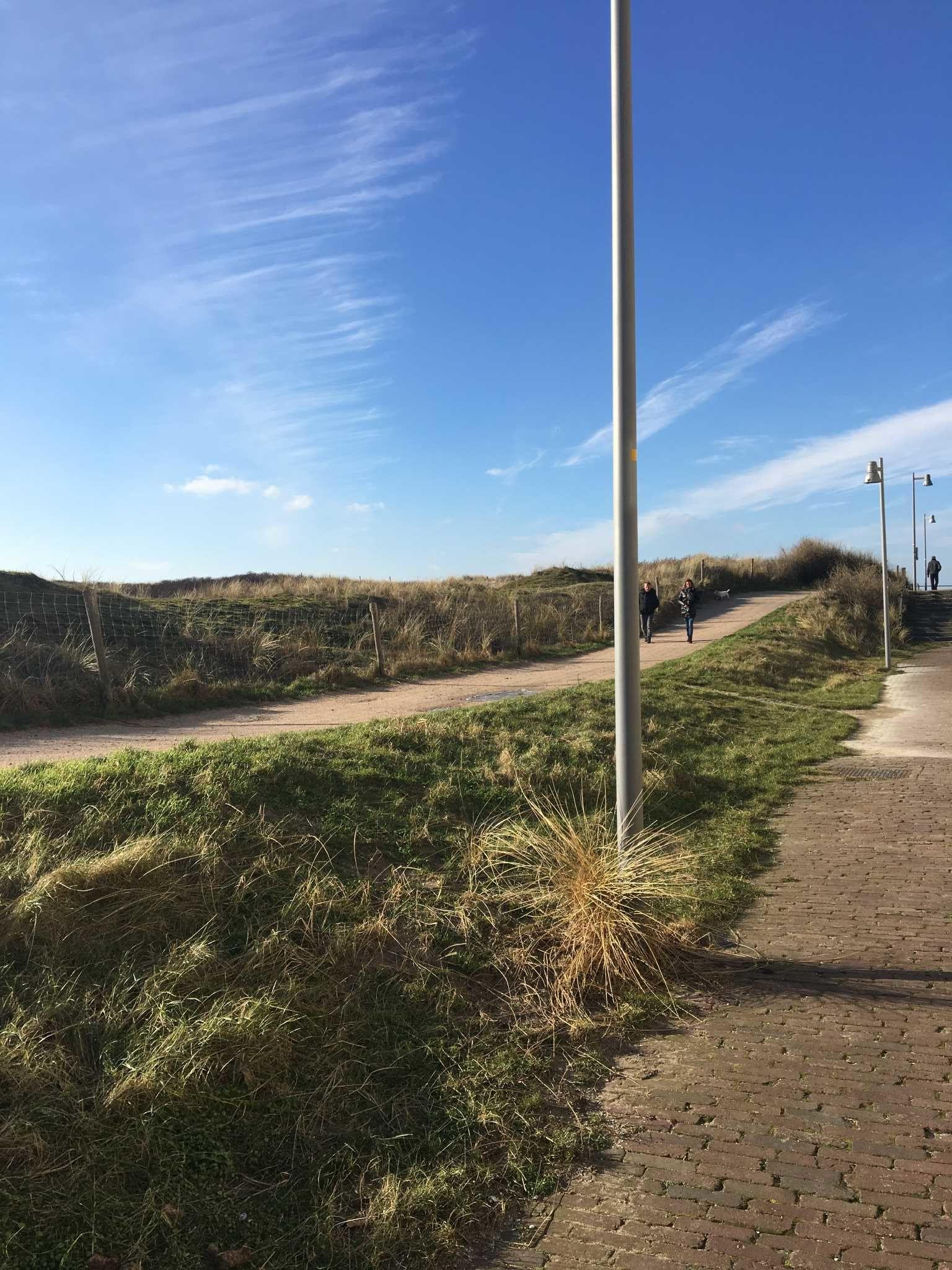 Weg zum Strand vom Haus