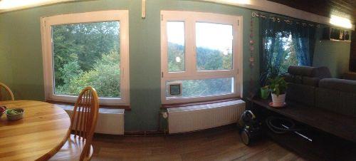 S�dseitige Fensterfront