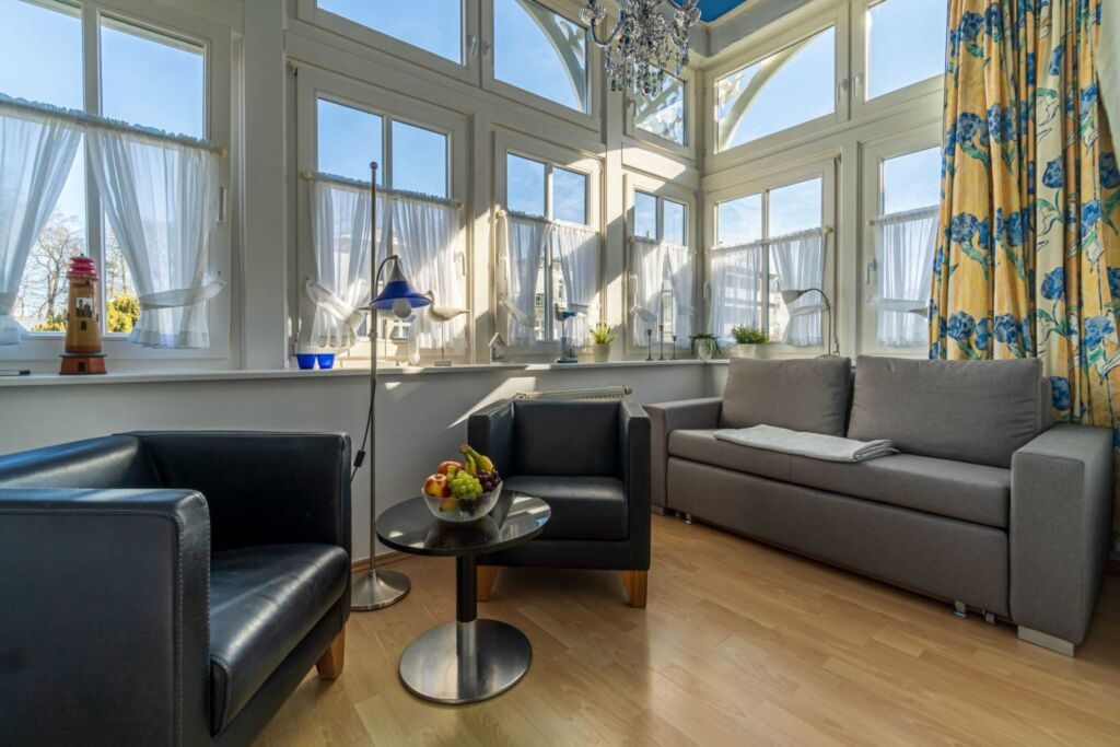 Villa Eden, 2 - Raum - Apartment (A.2.3), mit Balk
