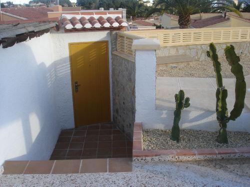 Zugang zum Haus (von innen)