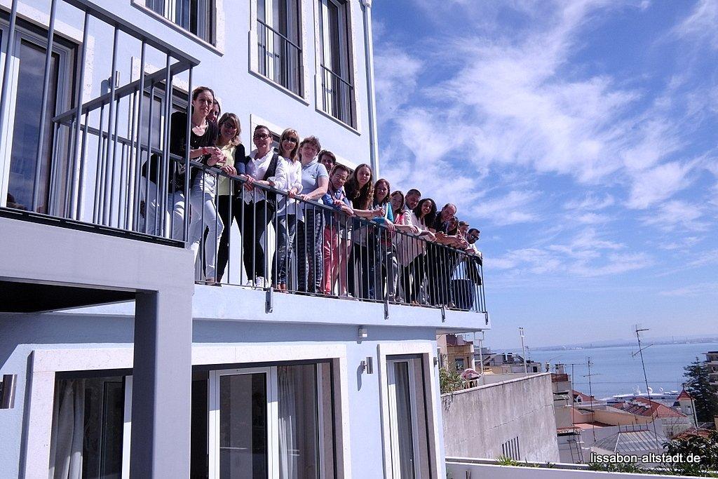 Unser Team in Lissabon erwartet Sie.