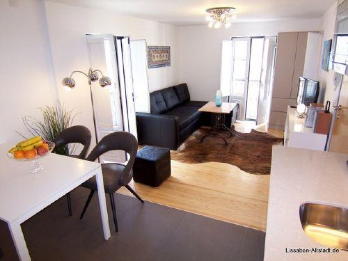 Blick ins neugestaltete Wohnzimmer