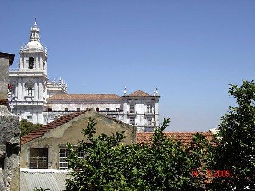 Blick vom K�chenfenster Altstadthaus